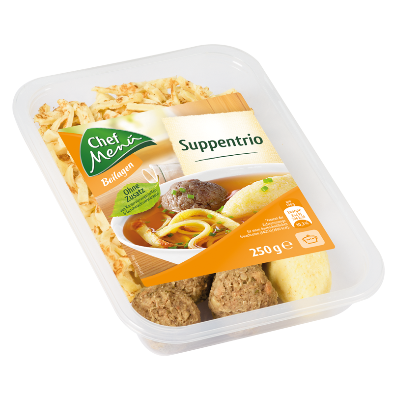 Chef Menü Suppentrio, 250g
