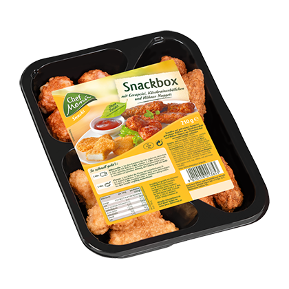 Chef Menü Snackbox, 210g