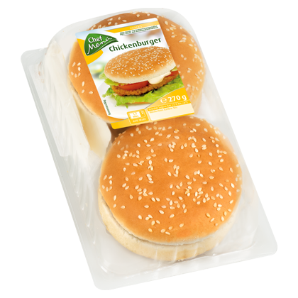 Chef Menü Chickenburger Gourmet-Sauce, 270g