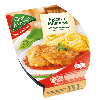 Chef Menü Piccata Milanese In Tomatensauce, 370g