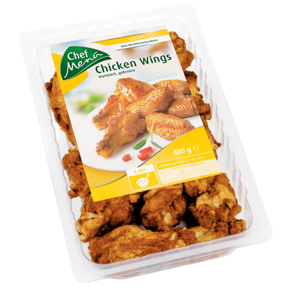 Chef Menü Chicken Wings, mariniert, gebraten, 400g